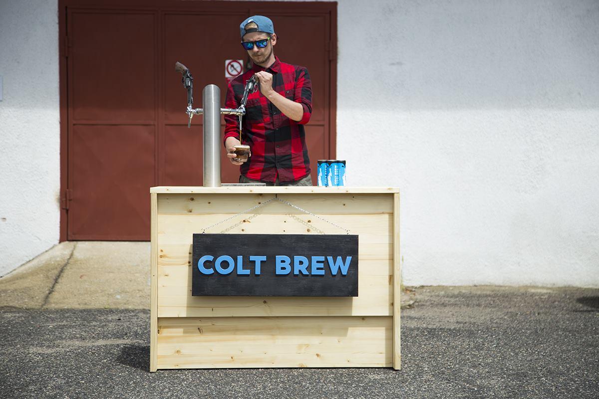 Colt Brew - mobilní pípa